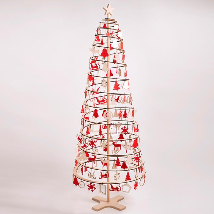 Holz Tannenbaum Groß.Holz Weihnachtsbaum Spira Groß Promondo