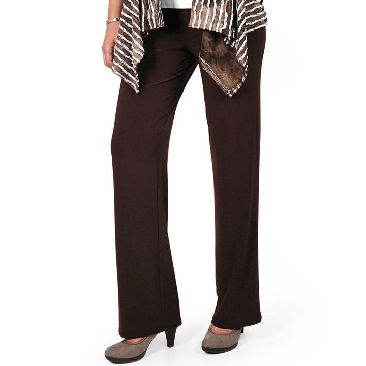 Weit geschnittene knitterfreie Business Hose