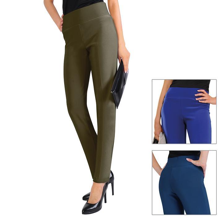Gerade geschnittene Komfort-Bund-Hose