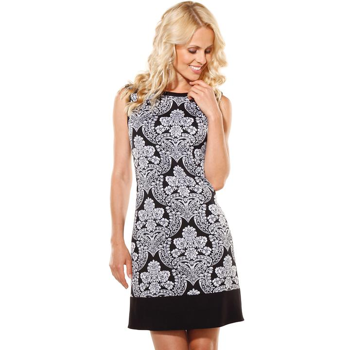 Kleid Lilou schwarz-weiß Gr. 36
