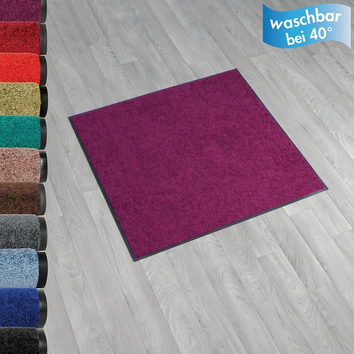 Fußmatte waschbar, 85 x 85 cm