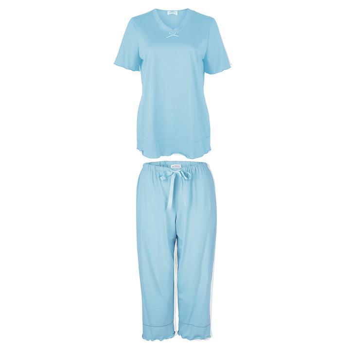 Samtweicher Pyjama aus 100% Baumwolle
