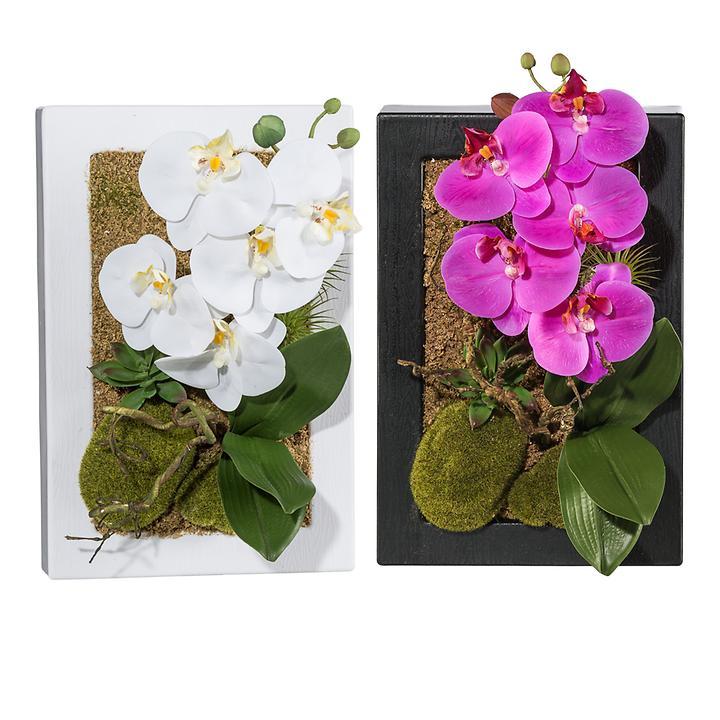 Deko-Wandobjekte Orchidee