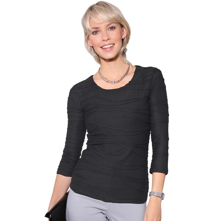 Shirt Lea schwarz Gr. 46