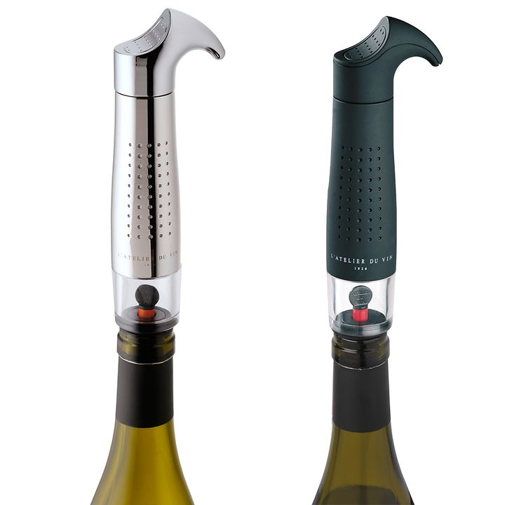 Vakuumpumpe Gard'Vin schwarz und metallic