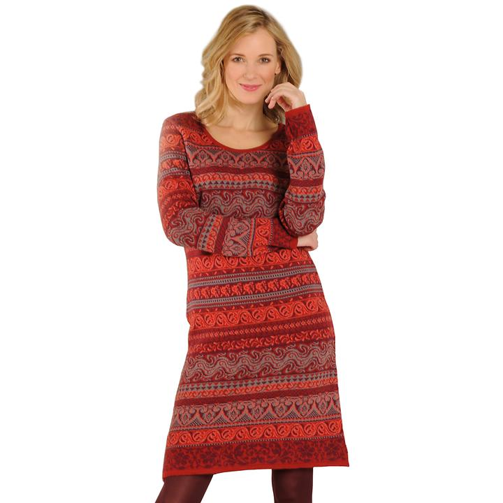 Kuschelig weiches Kleid aus Merinowolle