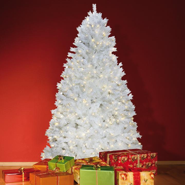 Weißer LED-Weihnachtsbaum | Promondo