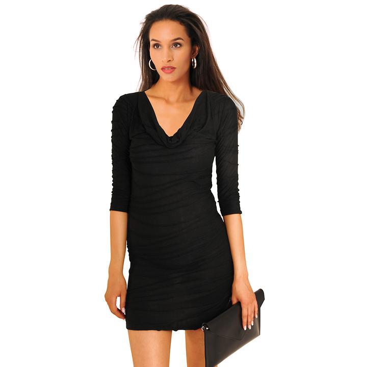 Kleid Wanda schwarz Gr. 48