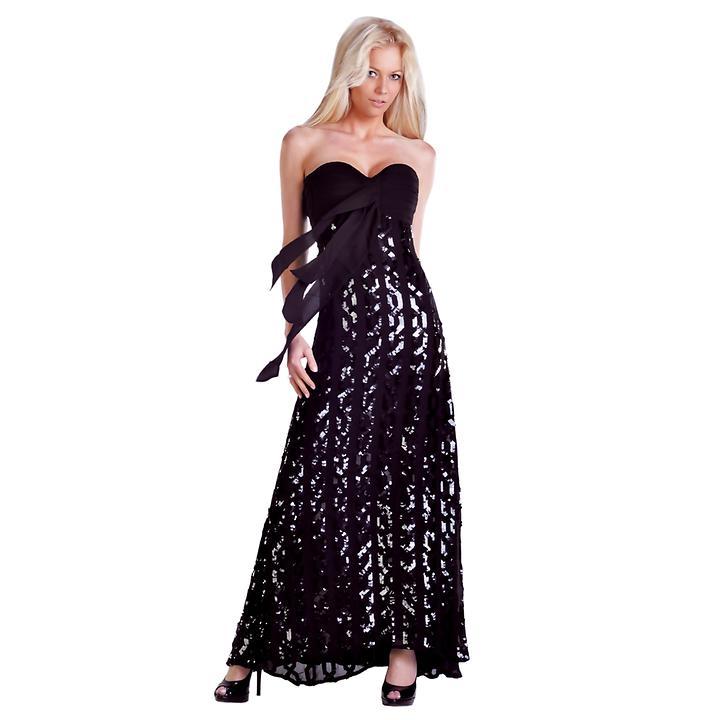 Abendkleider Glamour und Silk