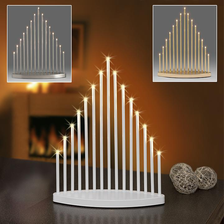 Design-LED-Leuchter Pyramid