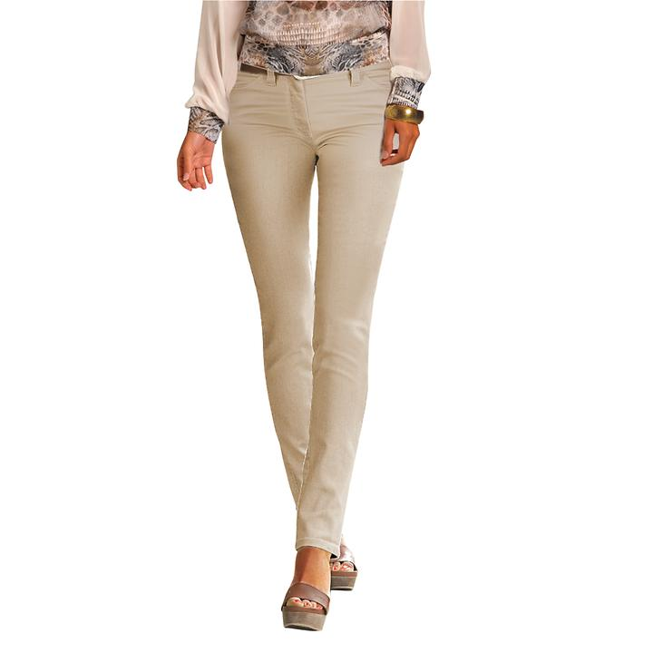 Jeans Shirley beige Gr. 38