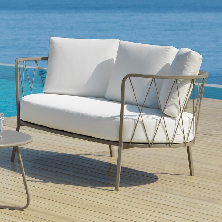 Design Sofa 'Sunderland' taupe