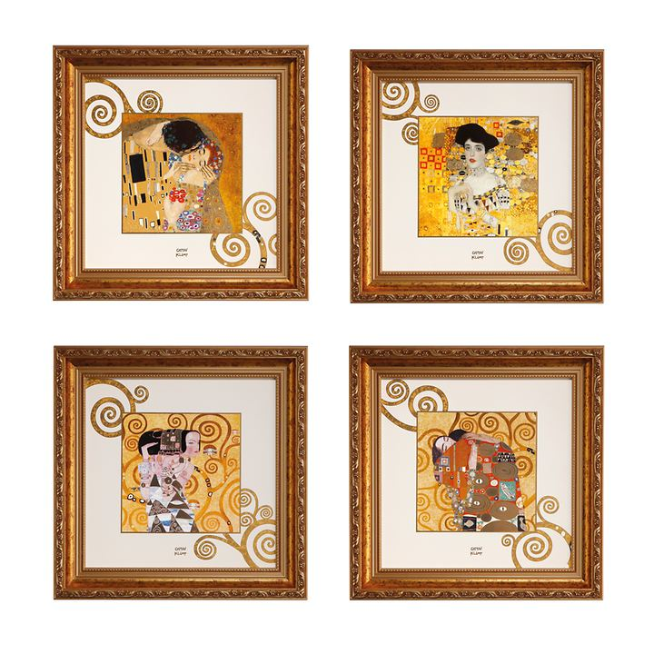 Porzellan-Wandbilder Gustav Klimt