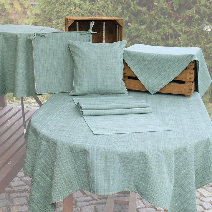 Tischwäschen-Serie Outdoor mint-meliert