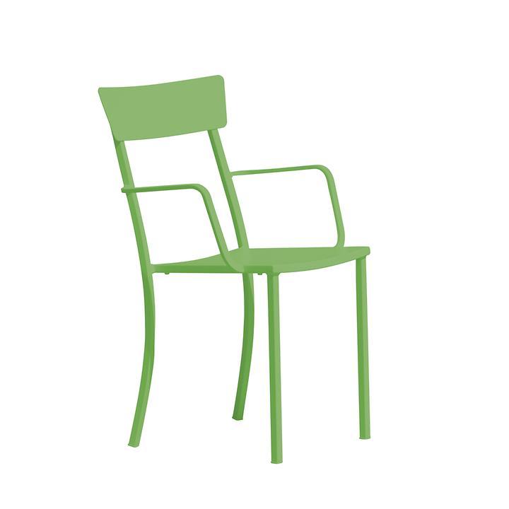 Armlehnenstuhl Newtown Grün