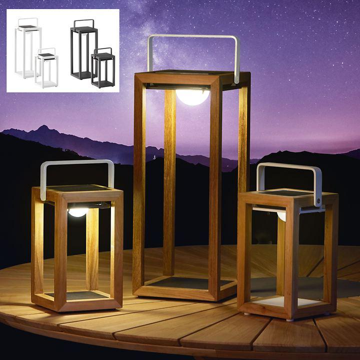 Solarleuchten Best Light Aluminium