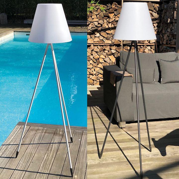 Solar-LED-Outdoorleuchte Capsis