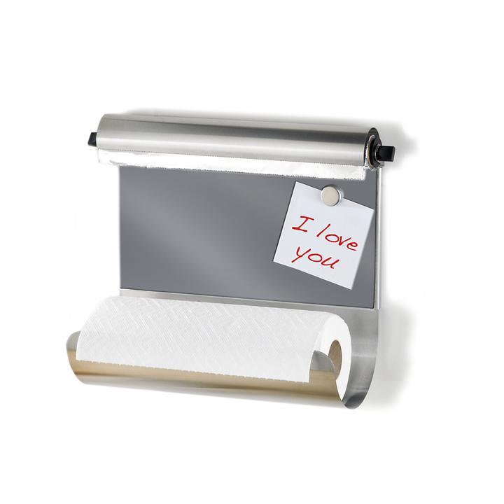 Küchenrollenhalter mit Folienspender