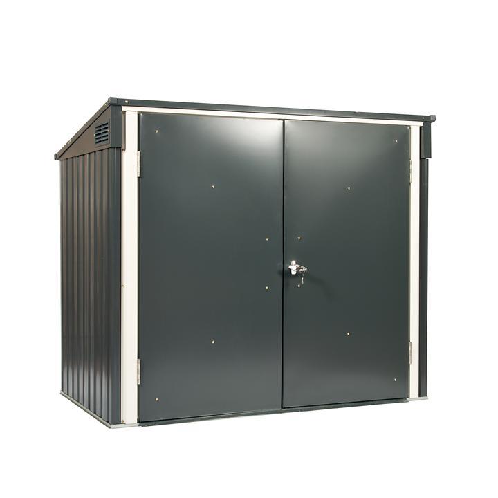 Mülltonnenbox für 2 x 240l Tonnen