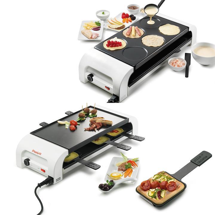 Raclette-Pizzagrill & Crépeplatte