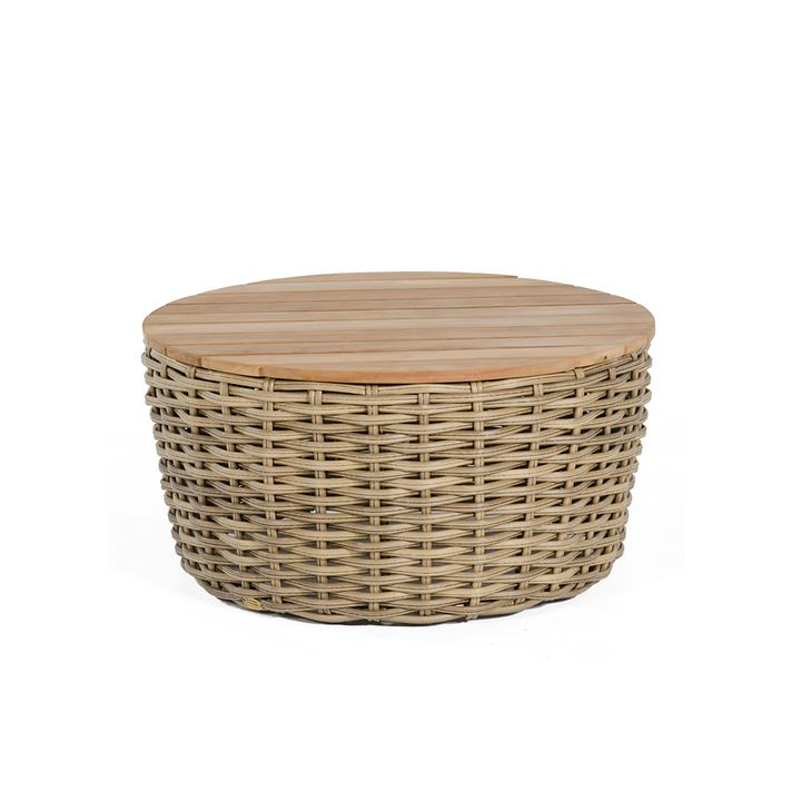runder Tisch 'Sands' light oaks
