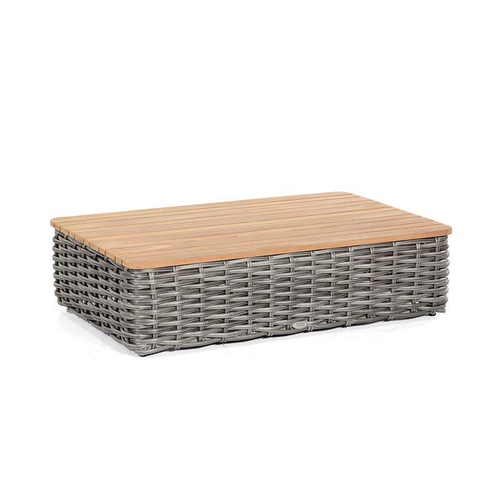 rechteckiger Tisch 'Sands' charcoal