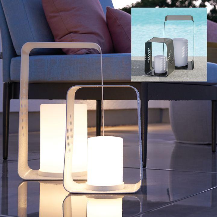 Aluminiumleuchte mit LED-Einsatz