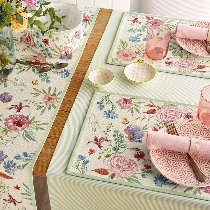 Tischläufer und Platzsets