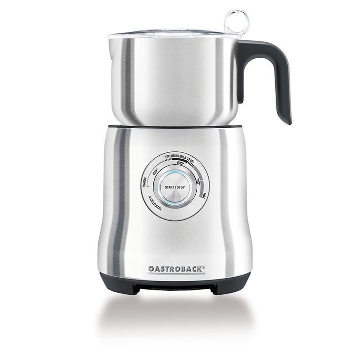 Milchaufschäumer Advanced | Küche und Esszimmer > Kaffee und Tee > Milchaufschäumer | Silber | Gastroback
