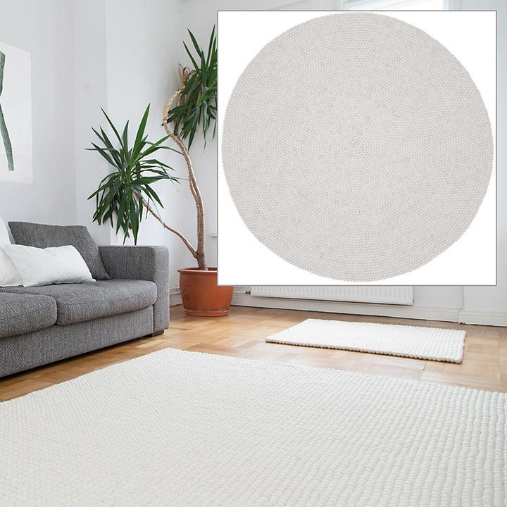 Design Filz-Teppich Linea