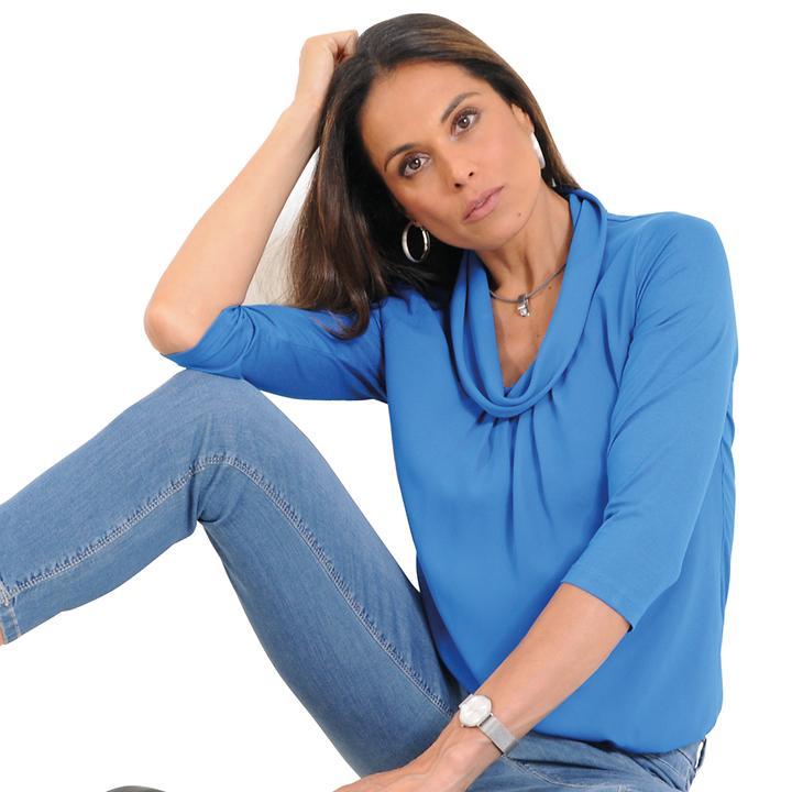 Shirt Leyla blau Gr. 36