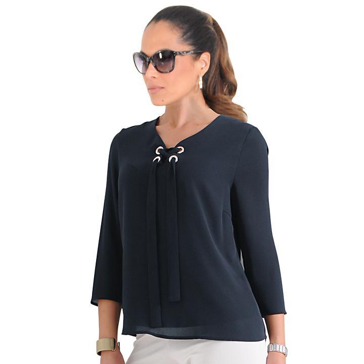 Shirt Nora marine, Gr. 48