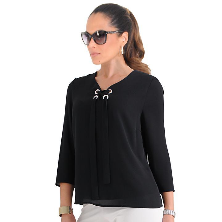 Shirt Nora schwarz, Gr. 42