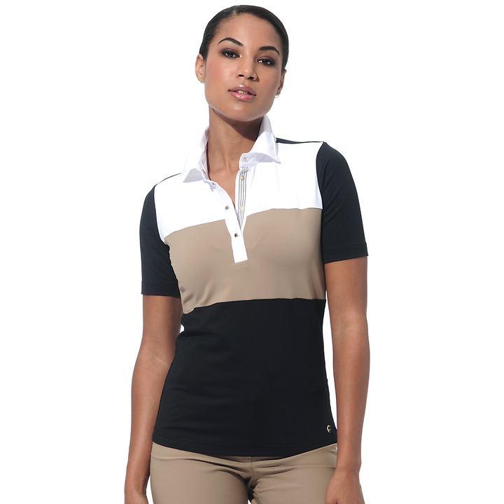 Poloshirt Meryl schwarz Gr. 36