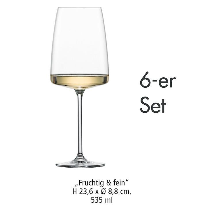 Kristallglas-Serie Sensa 6er-Set