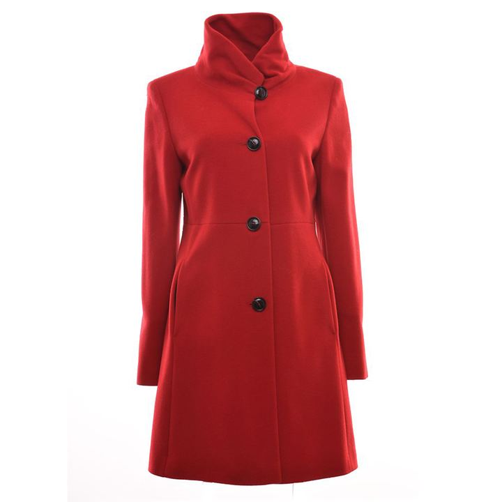 Mantel Melanie rot, Gr. 44