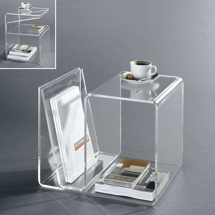 acryl beistelltisch promondo. Black Bedroom Furniture Sets. Home Design Ideas