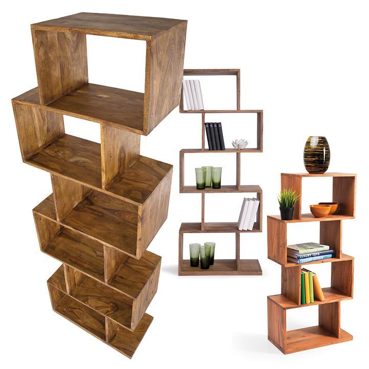regal zick zack promondo. Black Bedroom Furniture Sets. Home Design Ideas