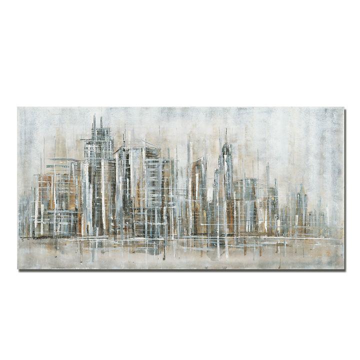 Bild Skyline silber