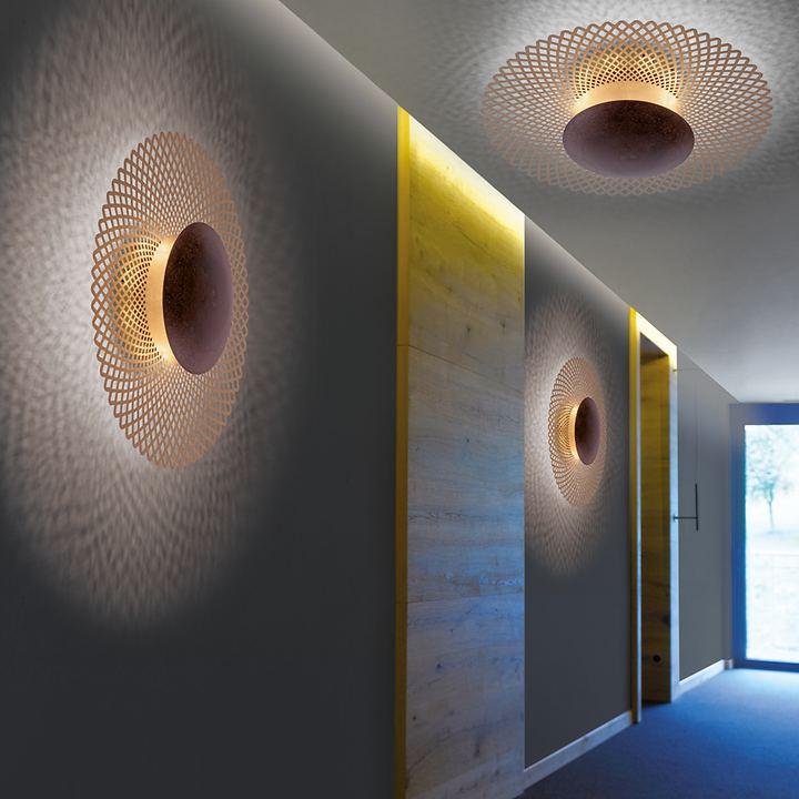 LED-Wand- / Deckenleuchte Nevis