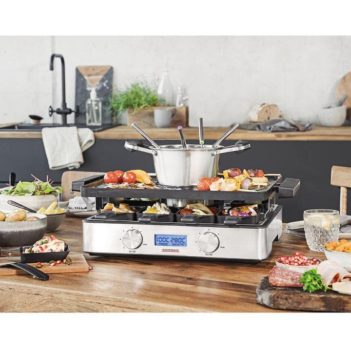 Design-Raclette-/Fondue-Set Advanced