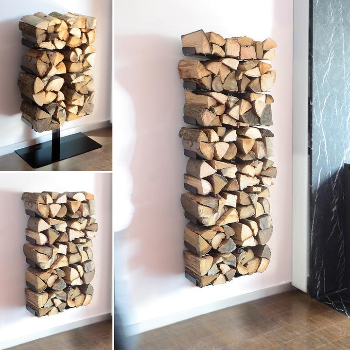 Design Kaminholzregal Wooden Tree