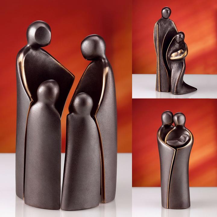 Künstlerskulptur in Bronze