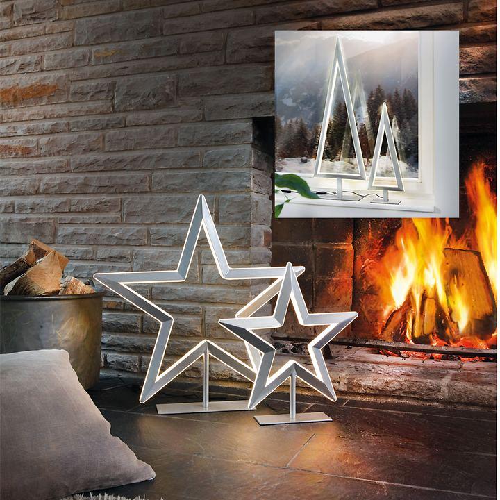 LED-Leuchten Tree und Star