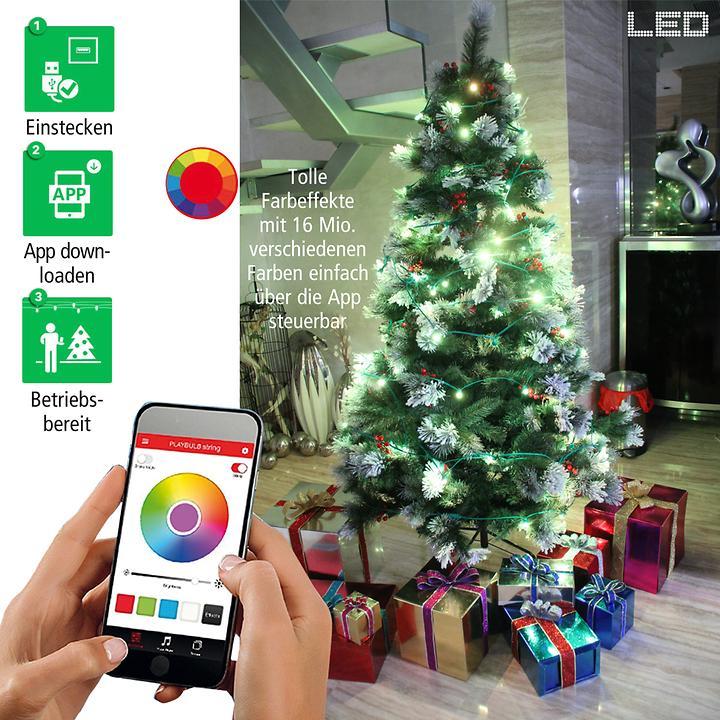 MiPow - Smartphone-gesteuerte LED-Lichterketten