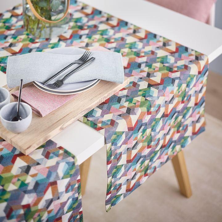 Tischwäsche-Serie Cubes