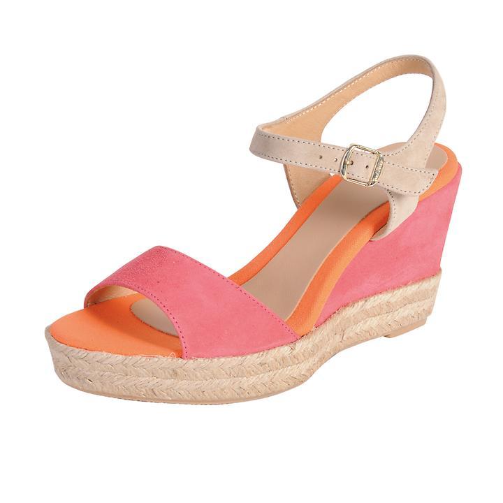 Sandalette Amalfi himbeere Gr. 37