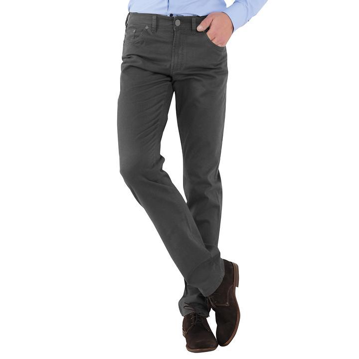 5-Pocket-Hose Levin grau Gr. 56 Inch 40/34