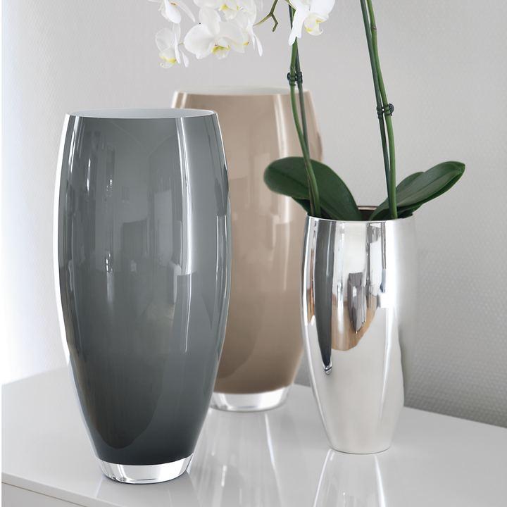 Vase Africa weiß klein