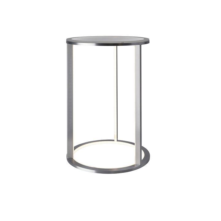 LED-Beistelltisch rund